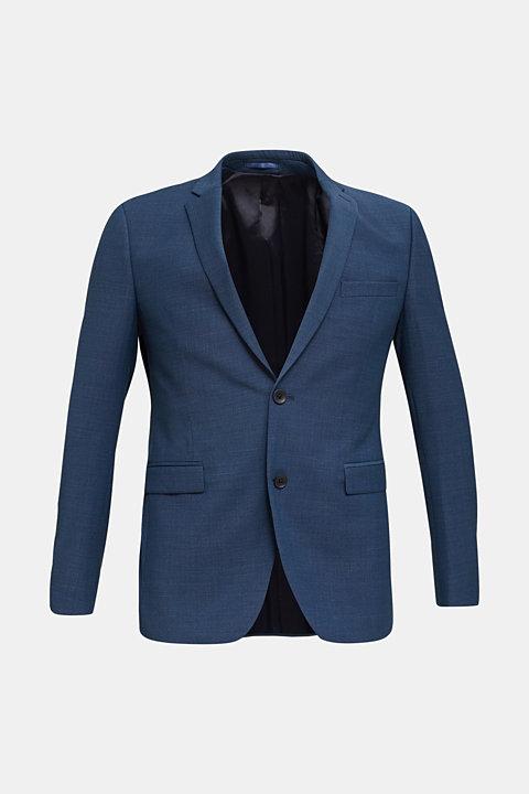 BLUE WOOL mix + match: sports jacket