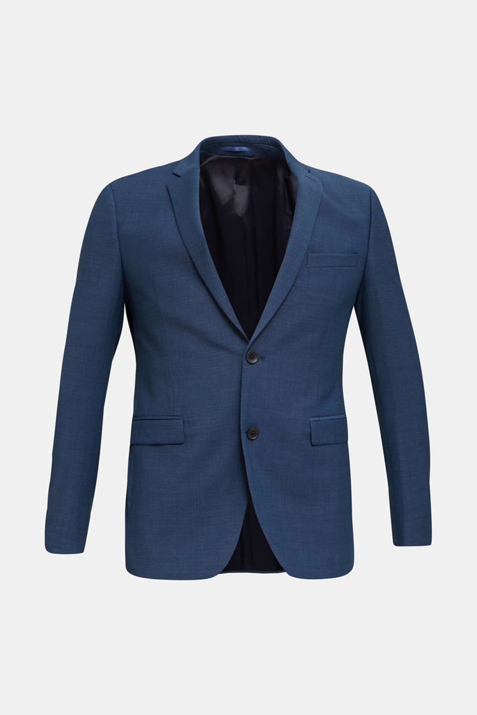BLUE WOOL mix + match: sports jacket, BLUE 5, detail image number 7