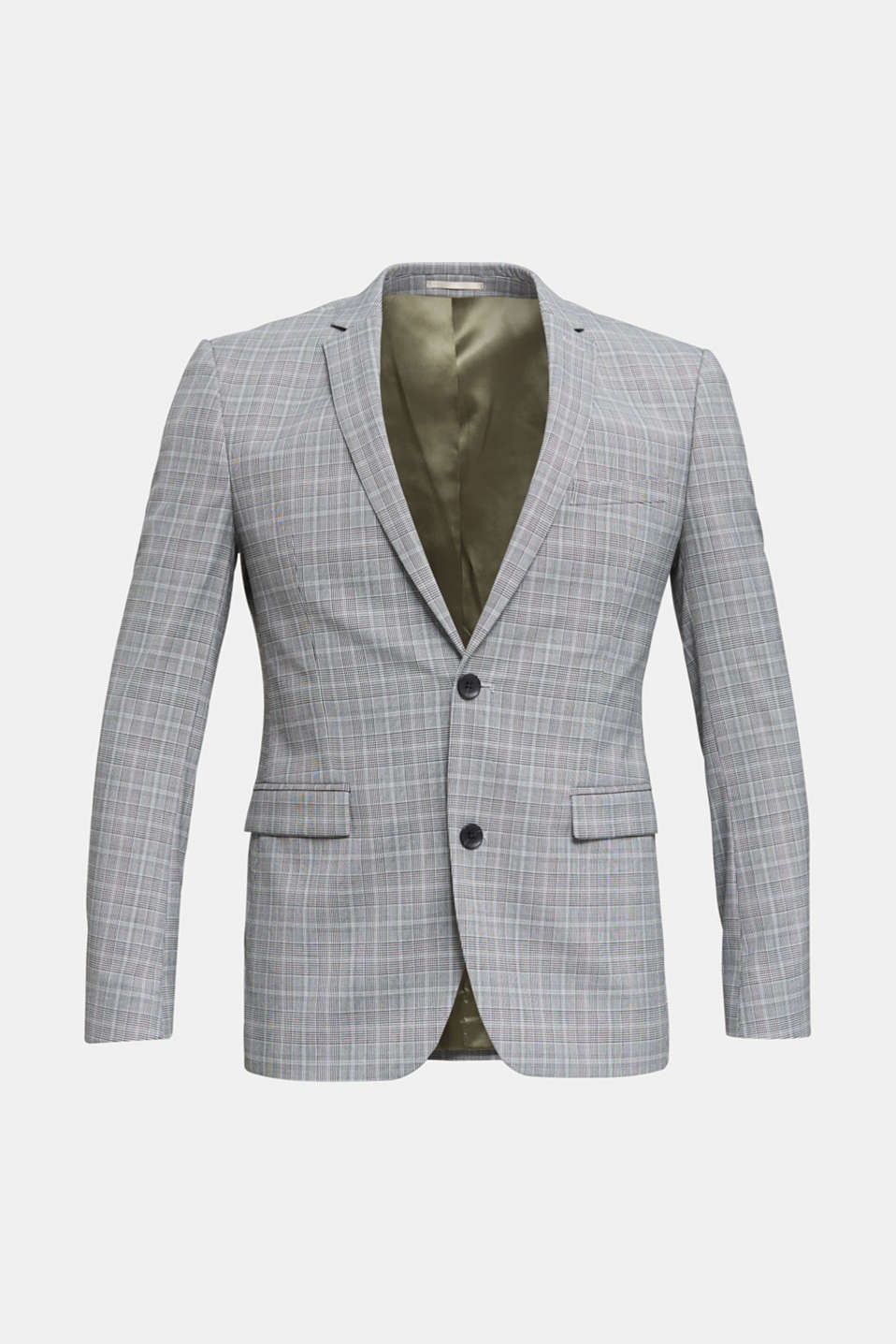 3-PIECE mix + match: Prince of Wales check jacket, LIGHT GREY 3, detail image number 7