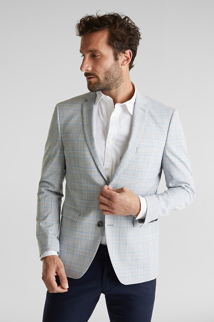 SUMMER CHECK mix + match: Blazer