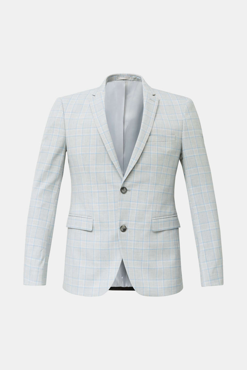 SUMMER CHECK mix + match: sports jacket, LIGHT BLUE 3, detail image number 7