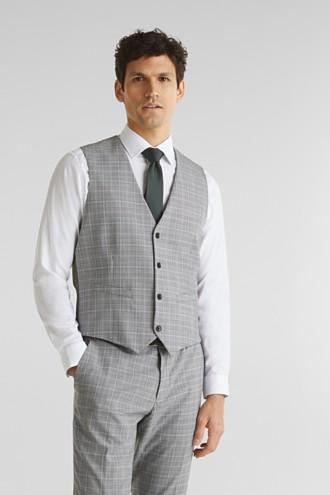 3-PIECE mix + match: Prince of Wales check waistcoat