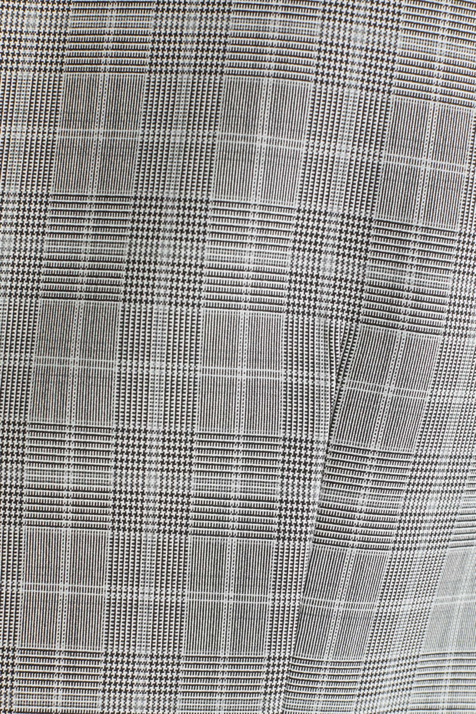 3-PIECE mix + match: Prince of Wales check waistcoat, LIGHT GREY 3, detail image number 4
