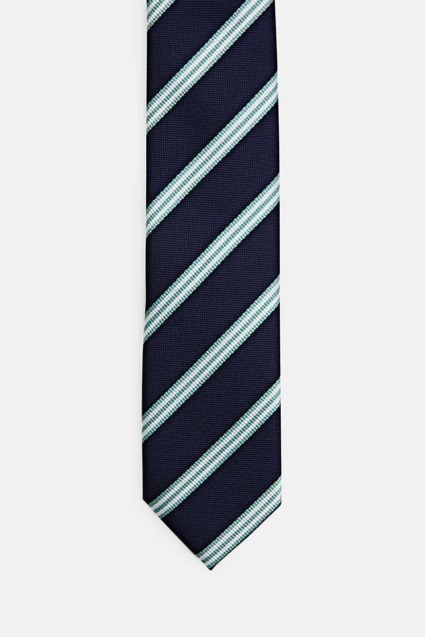 Tie with stripes