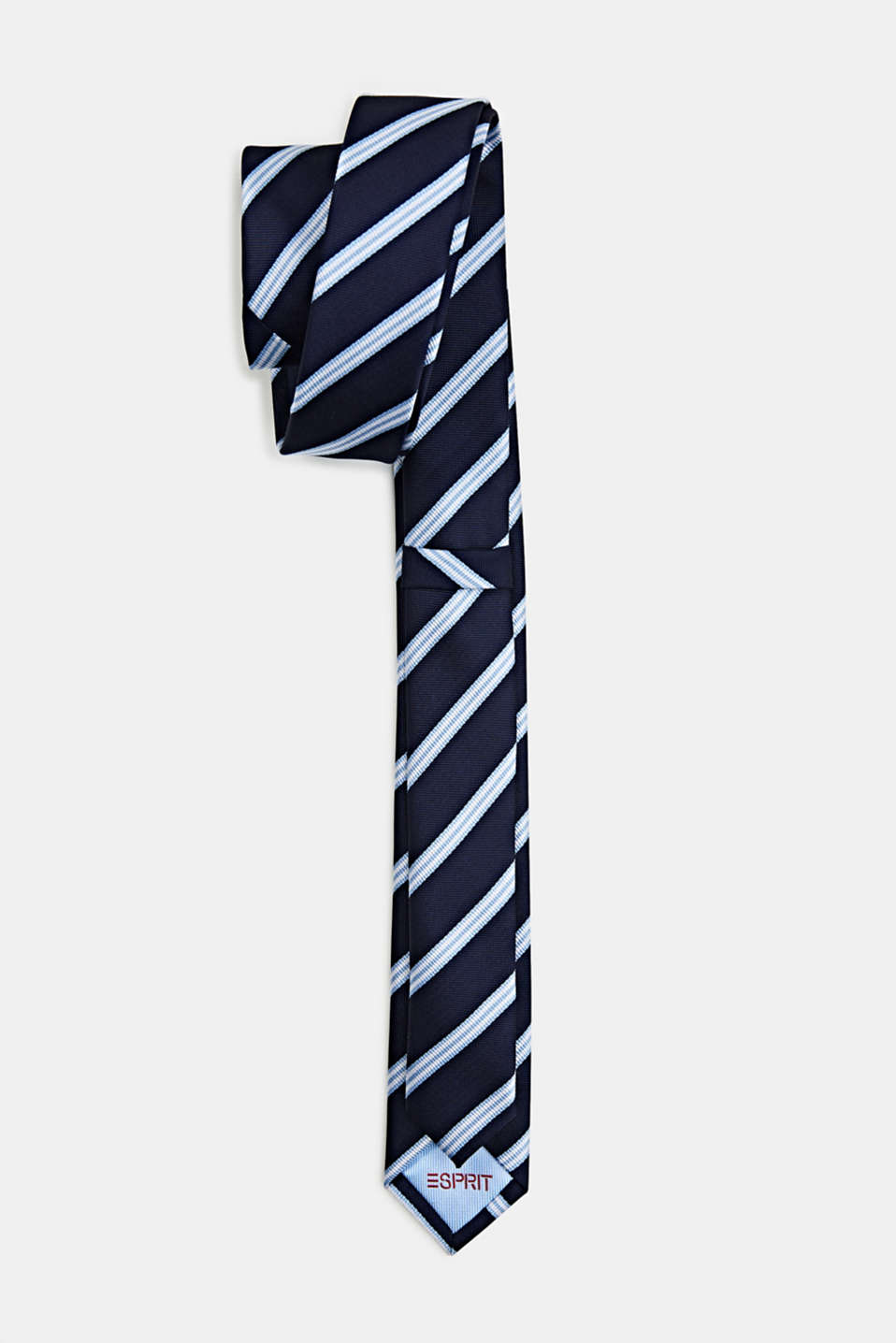 Tie with stripes, LIGHT BLUE 3, detail image number 2