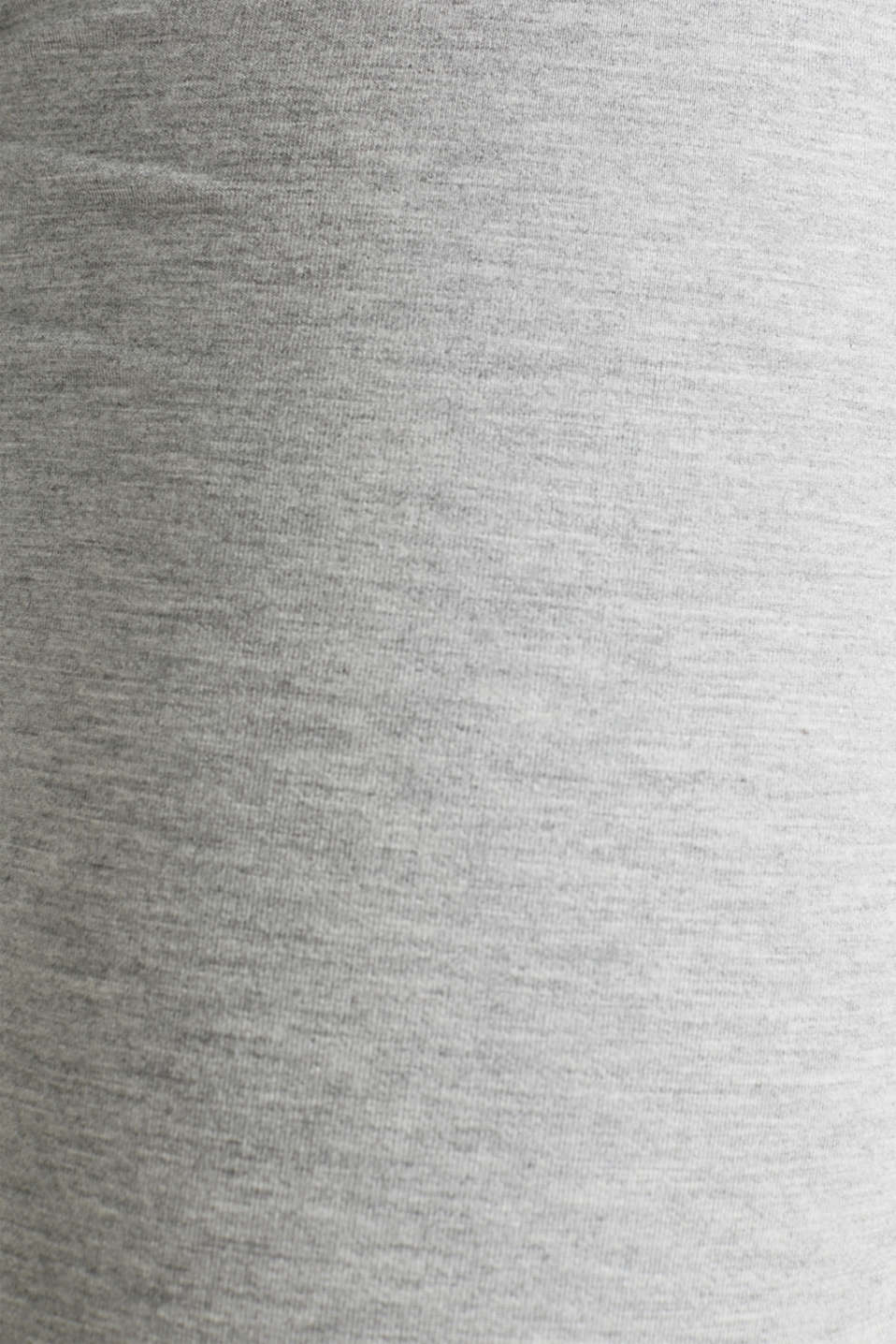 Stretch trousers with LENZING™ ECOVERO™ viscose, GREY 2, detail image number 3