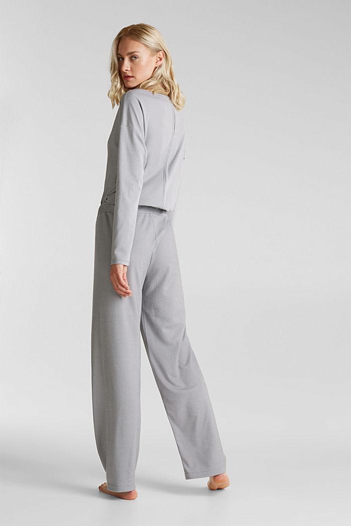 Mit Modal/TENCEL™: Ripp-Pants, GREY, detail image number 2