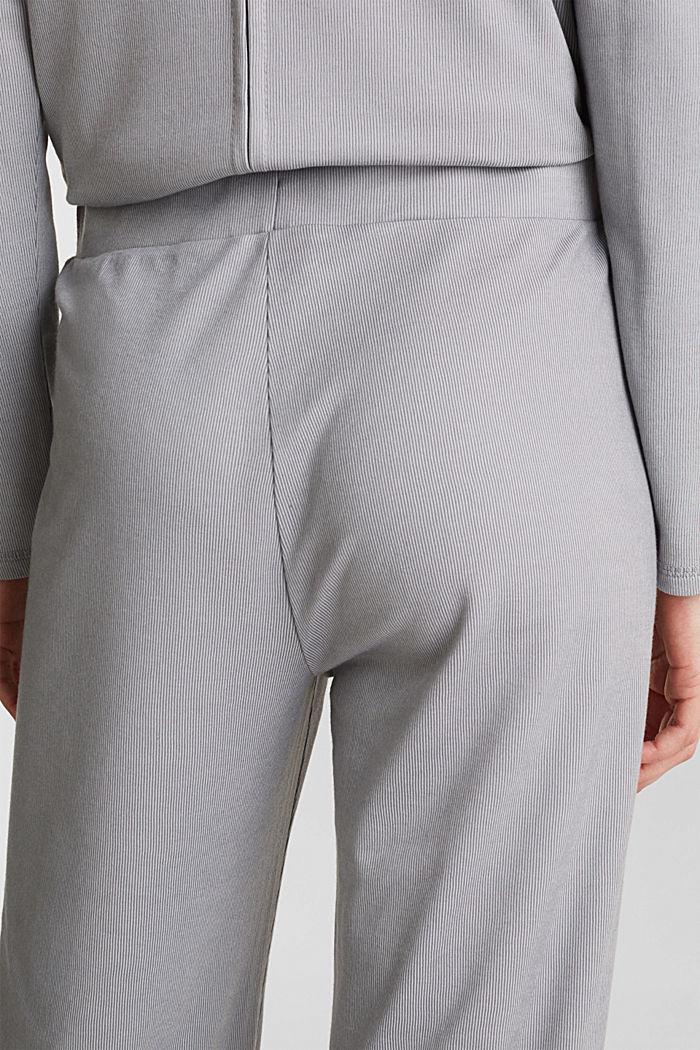 Mit Modal/TENCEL™: Ripp-Pants, GREY, detail image number 4