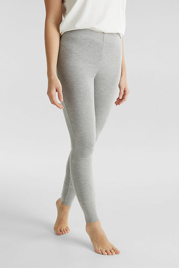 Leggings made of modal/TENCEL™, GREY, detail image number 4