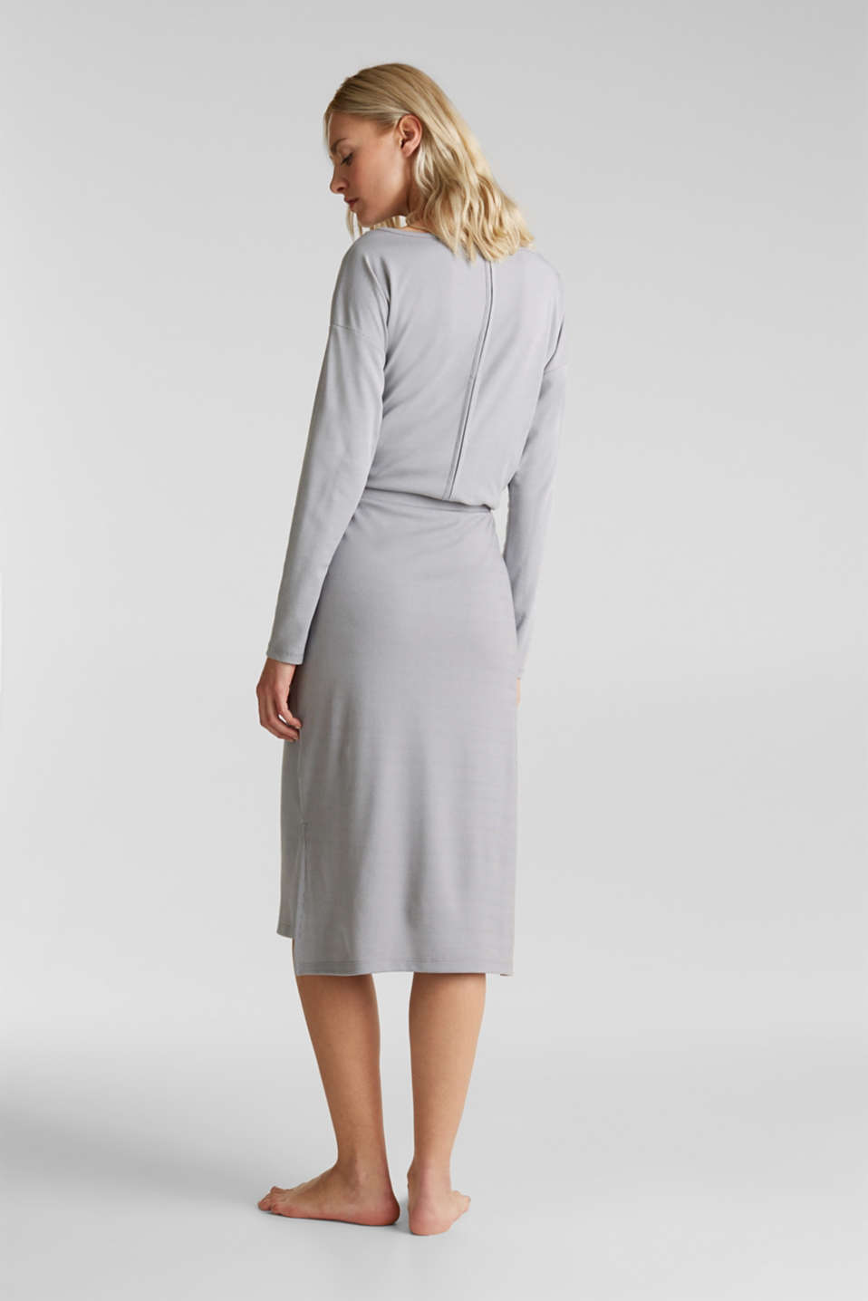 Made of modal/TENCEL™: ribbed skirt, GREY 2, detail image number 2