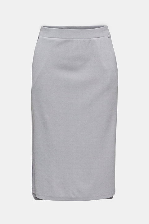 Made of modal/TENCEL™: ribbed skirt