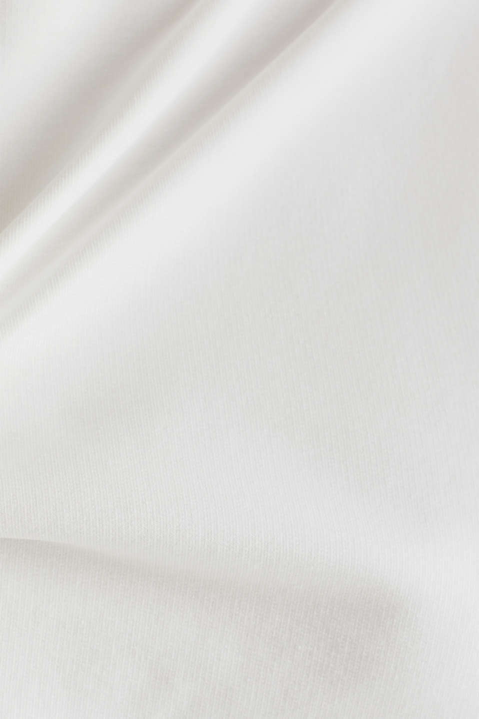 Stretchy sweatshirt with a bateau neckline, OFF WHITE, detail image number 4