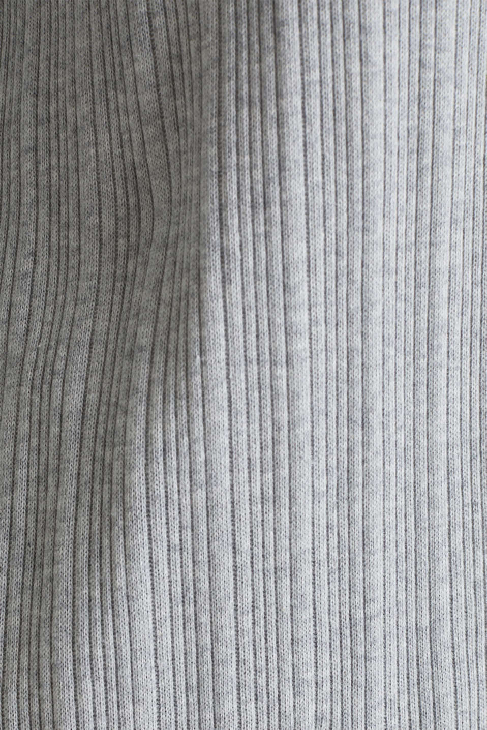 Jersey cardigan with a ribbed texture, GREY 2, detail image number 4
