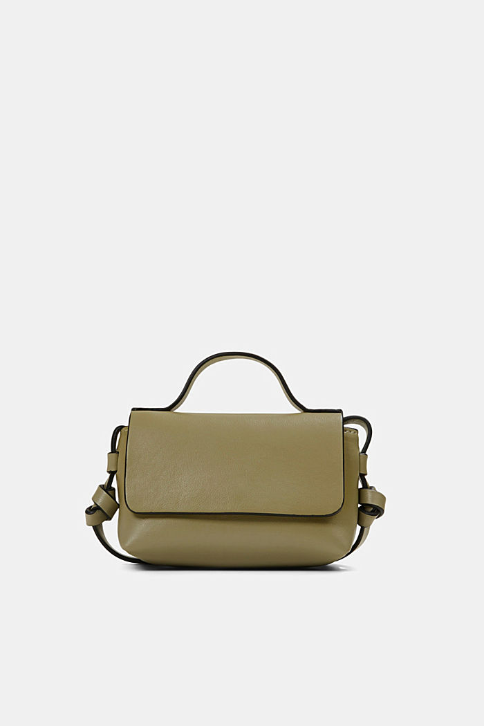 Vegan: Mini-Schultertasche, LIGHT KHAKI, detail image number 0