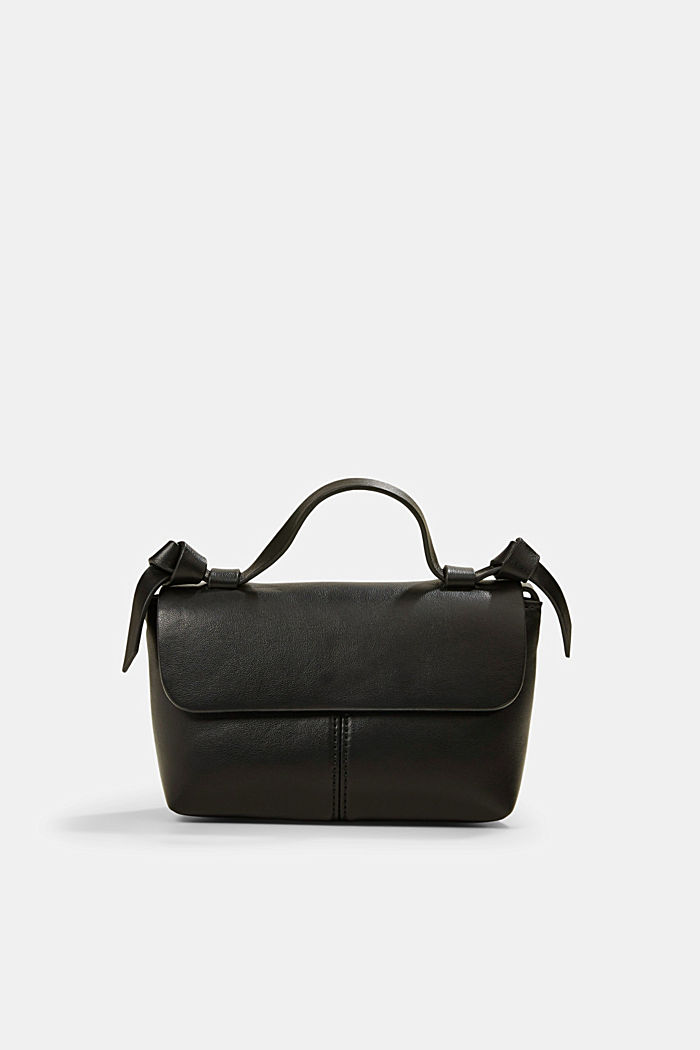 Vegan: small shoulder bag, BLACK, detail image number 0