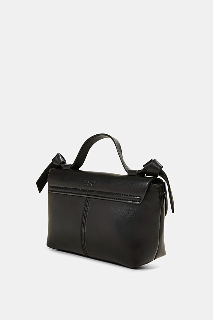 Vegan: small shoulder bag, BLACK, detail image number 2