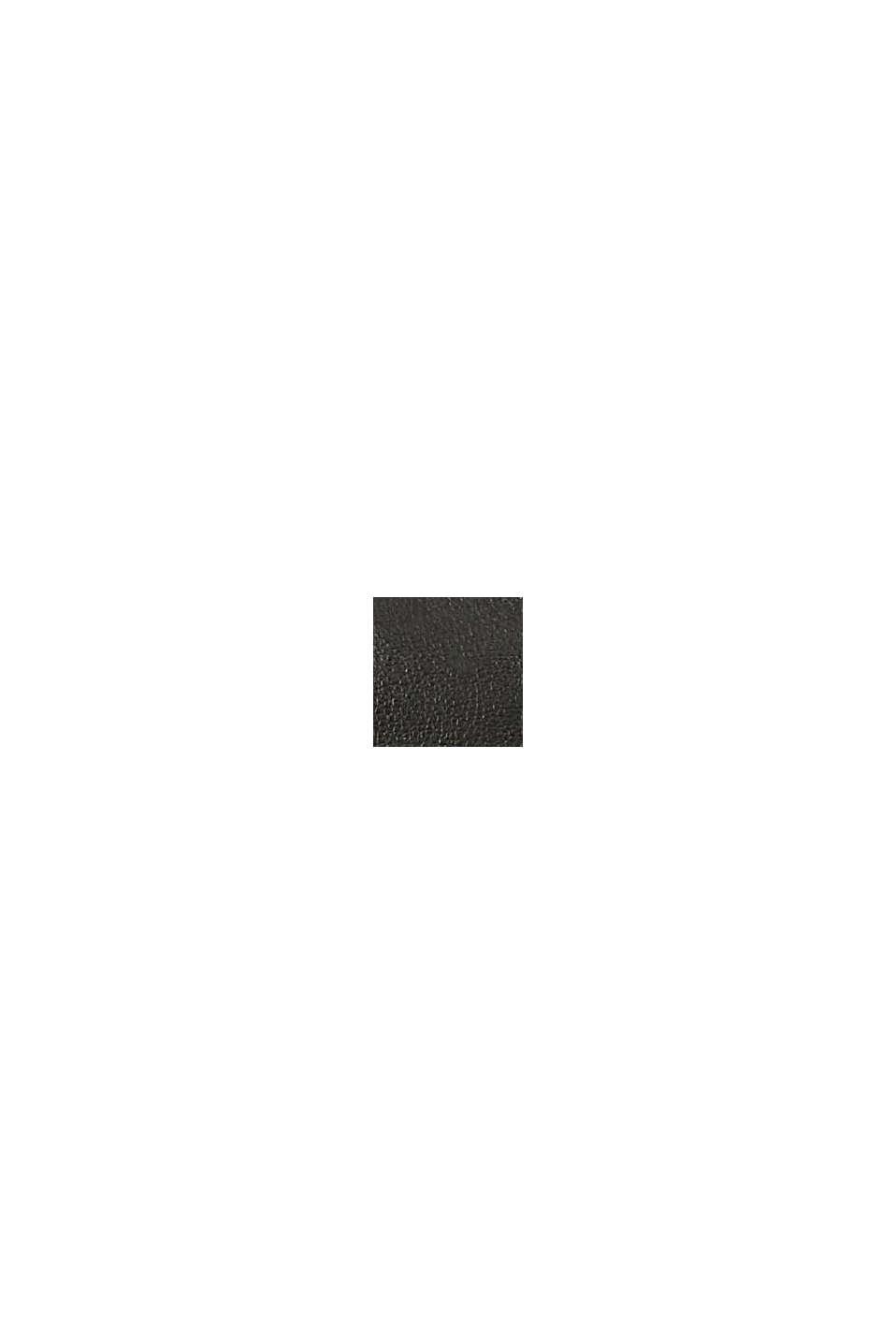 Vegan : le petit sac bandoulière, BLACK, swatch