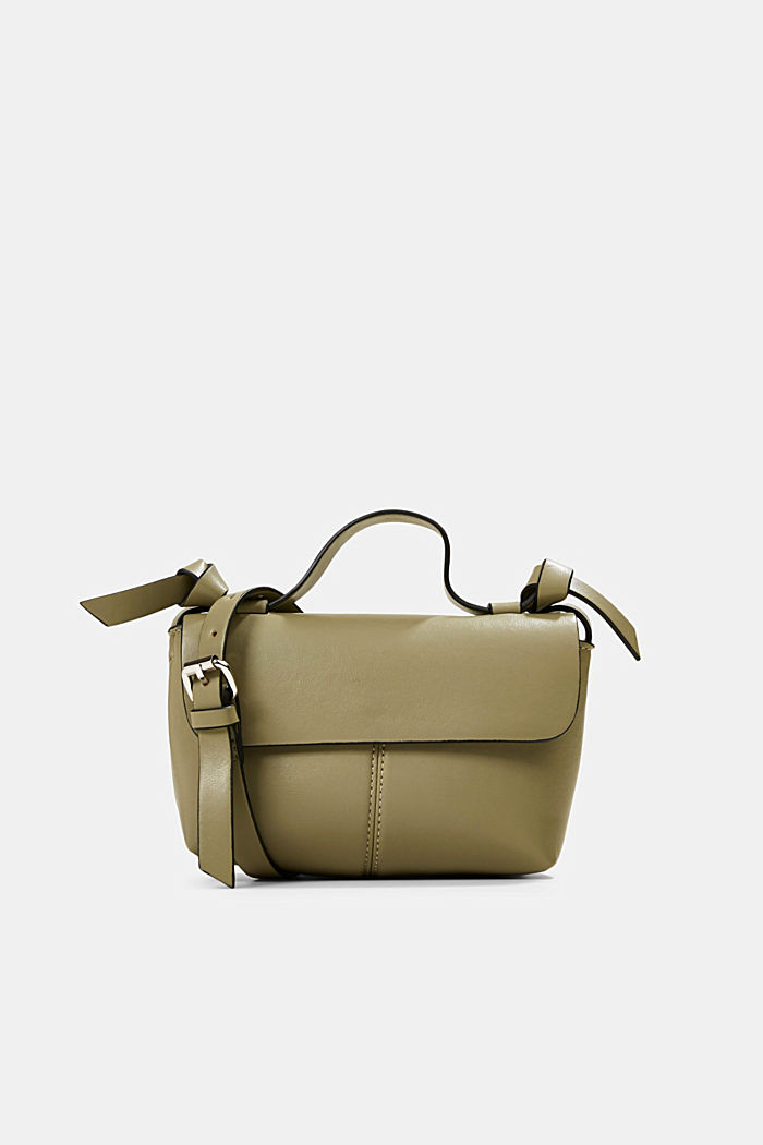 Vegan: kleine Schultertasche, LIGHT KHAKI, detail image number 0