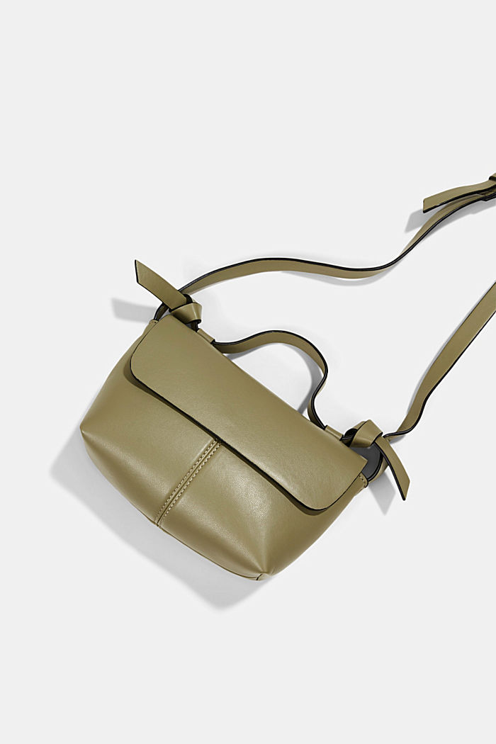 Vegan: kleine Schultertasche, LIGHT KHAKI, detail image number 2