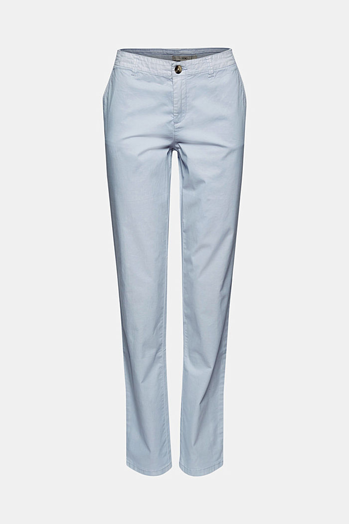 Stretch-Chino aus Organic Cotton
