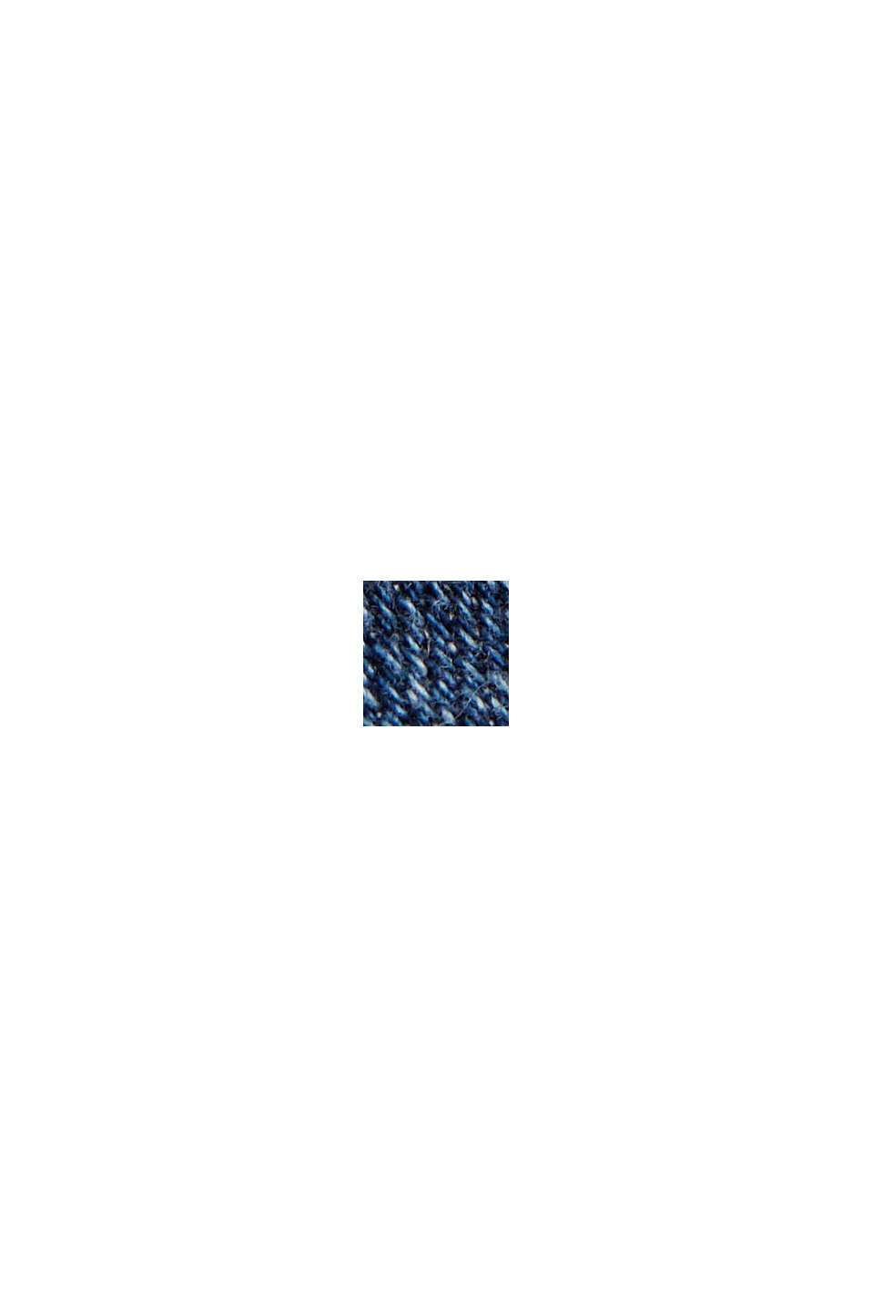 Enkellange stretchjeans van organic cotton, BLUE DARK WASHED, swatch
