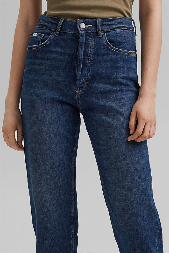Cropped Jeans mit Fashion-Fit, BLUE DARK WASHED, detail image number 2