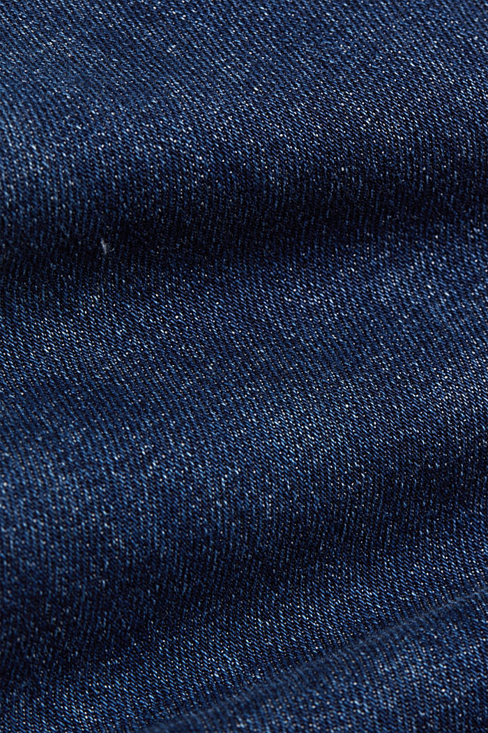 Cropped Jeans mit Fashion-Fit, BLUE DARK WASHED, detail image number 4