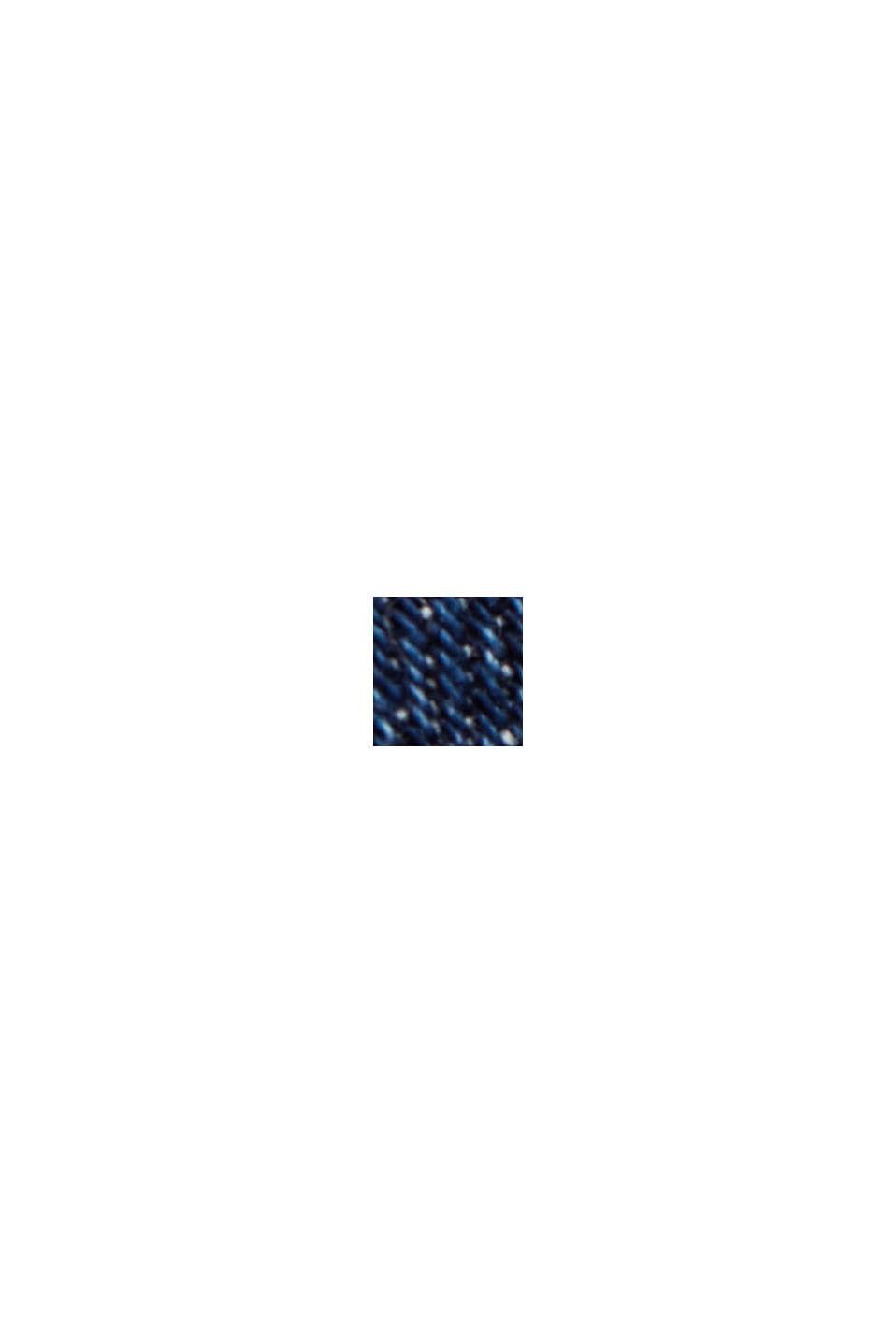 Korta jeans med modern passform, BLUE DARK WASHED, swatch