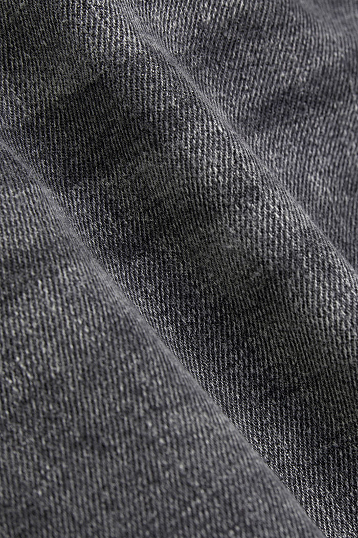 Knöchellange Jeans mit Fashion-Fit, BLACK DARK WASHED, detail image number 4