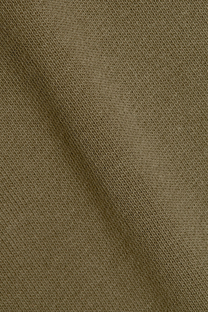 Tracksuit bottoms in a cargo style, KHAKI GREEN, detail image number 4