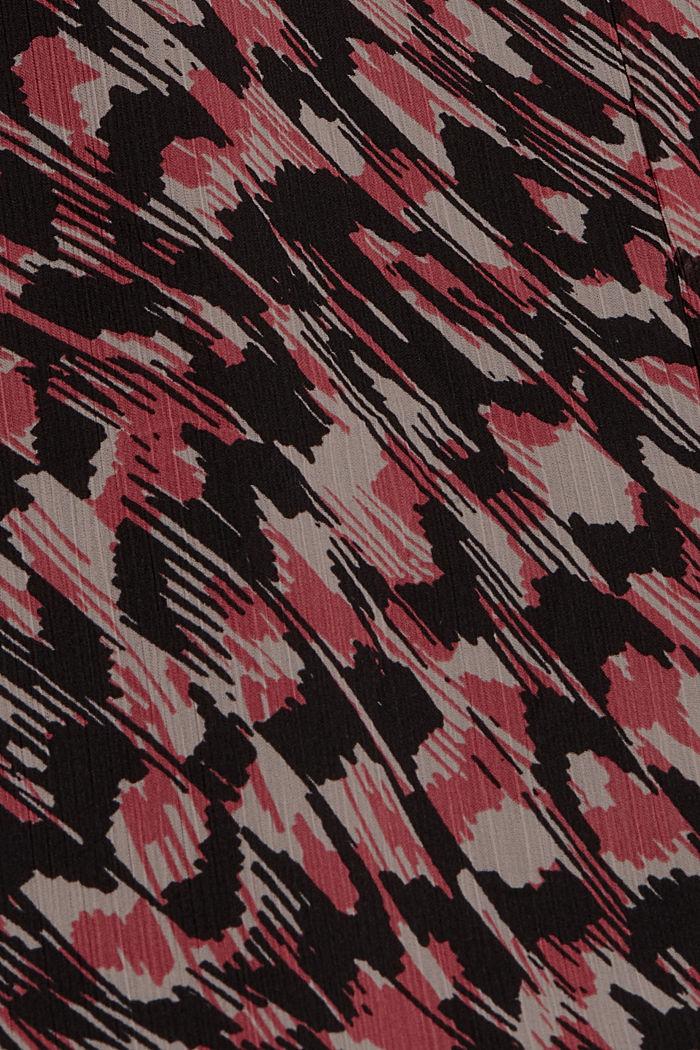 Midi sukně z šifonu, s potiskem, BLACK, detail image number 4