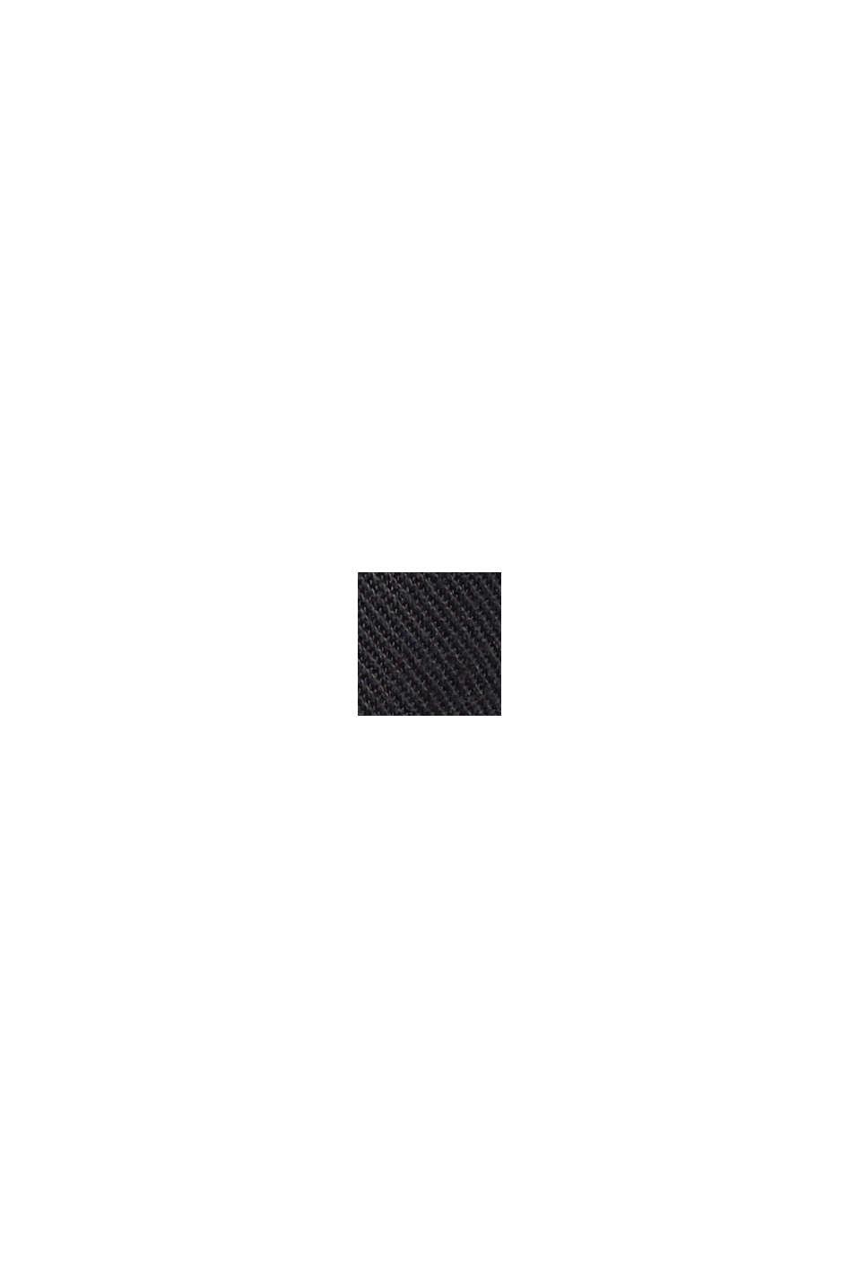 In TENCEL™: abito in stile utility, BLACK, swatch