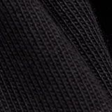 Hängerkleid mit Volantsaum, Organic Cotton, BLACK, swatch