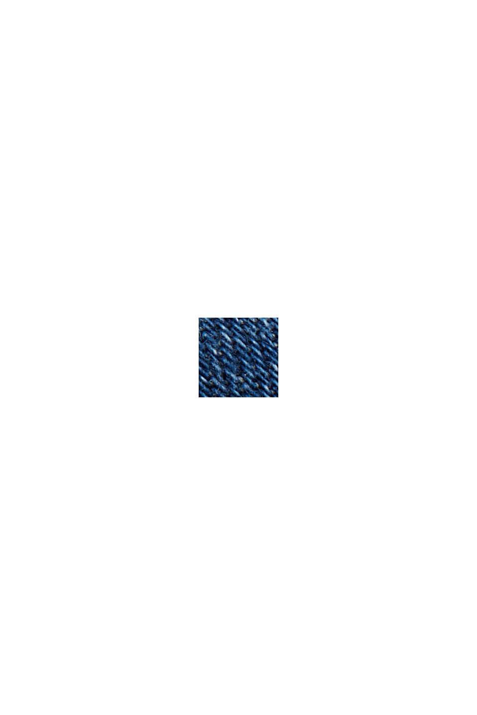 Denim dress in organic cotton, BLUE MEDIUM WASHED, swatch