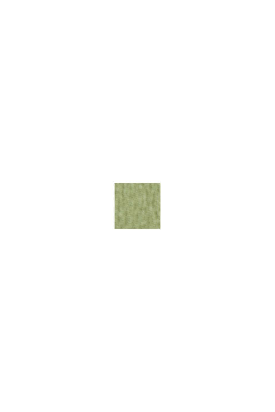 Crêpe-Bluse aus LENZING™ ECOVERO™, DUSTY GREEN, swatch