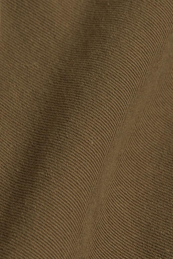 Utility-Jacke aus 100% Organic Cotton, KHAKI GREEN, detail image number 4