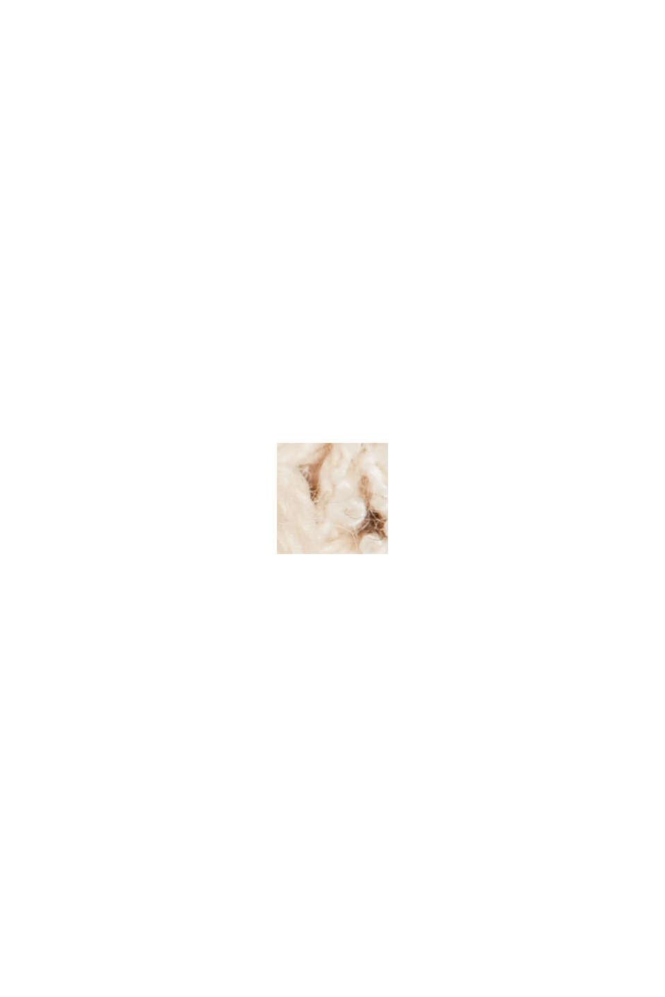 Pull-over côtelé à teneur en coton biologique, BEIGE, swatch