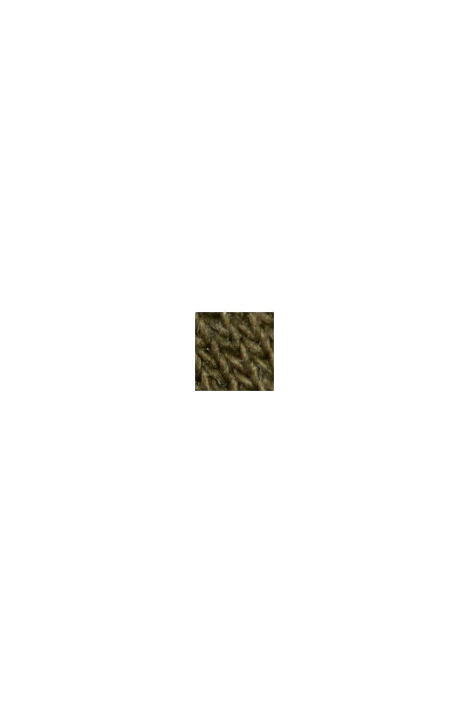 Mikina s blokovými pruhy, KHAKI GREEN, swatch