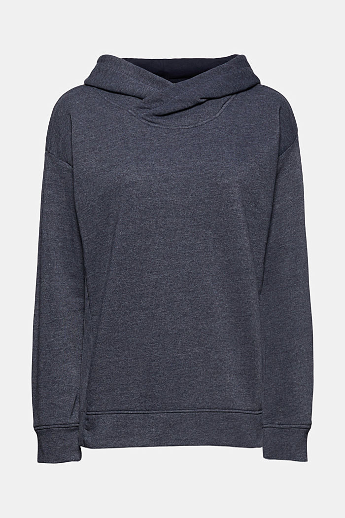 Recycled: hoodie containing organic cotton, NAVY, detail image number 7