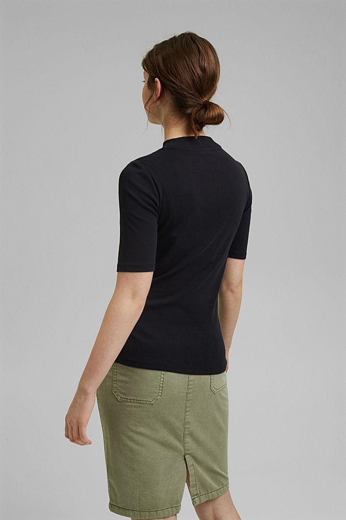 Koszulka z nadrukiem z 100% bawełny ekologicznej, BLACK, detail image number 3