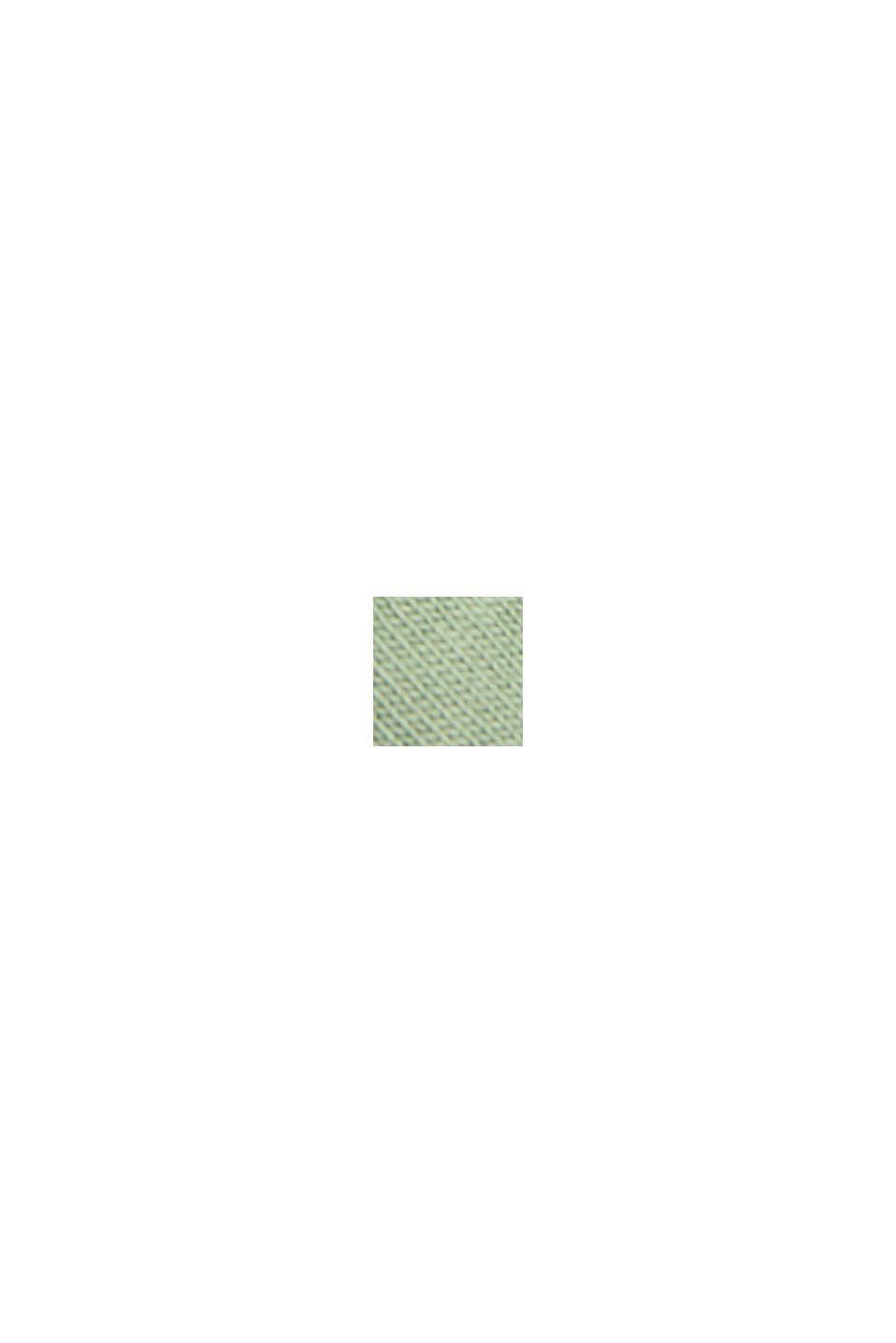 Longsleeve aus 100% Organic Cotton, DUSTY GREEN, swatch