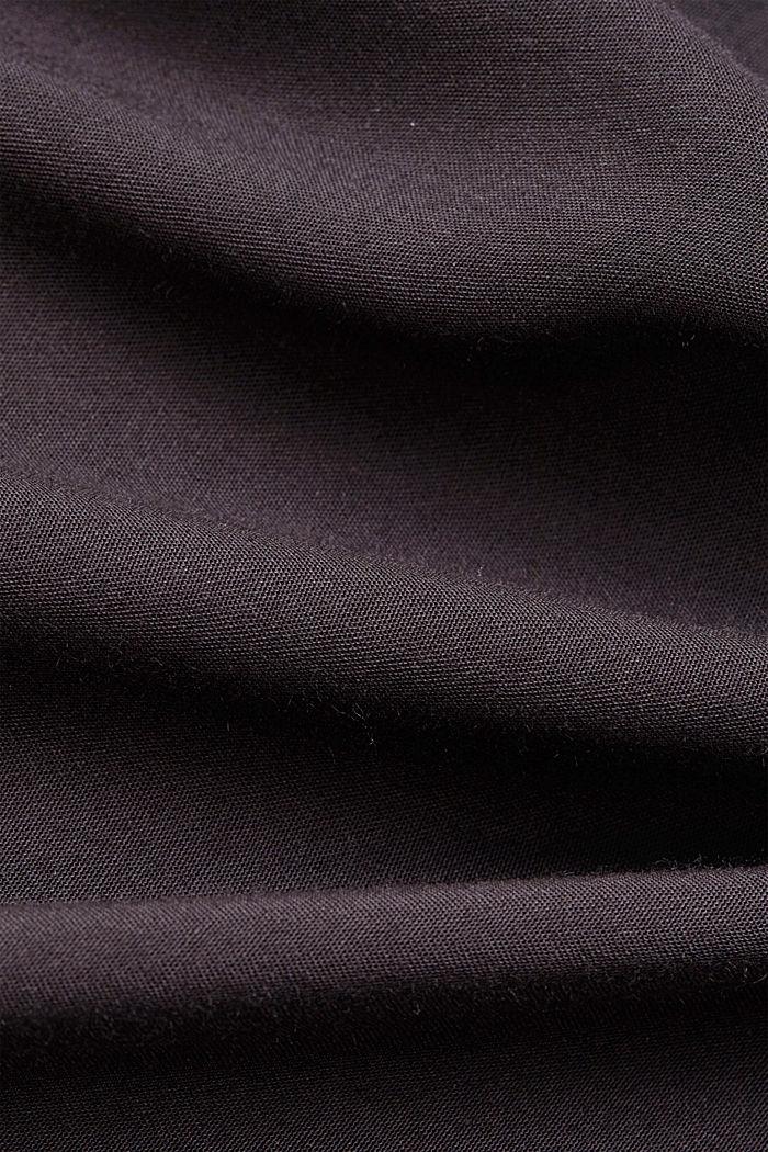 T-shirt à teneur en coton biologique et viscose, BLACK, detail image number 4