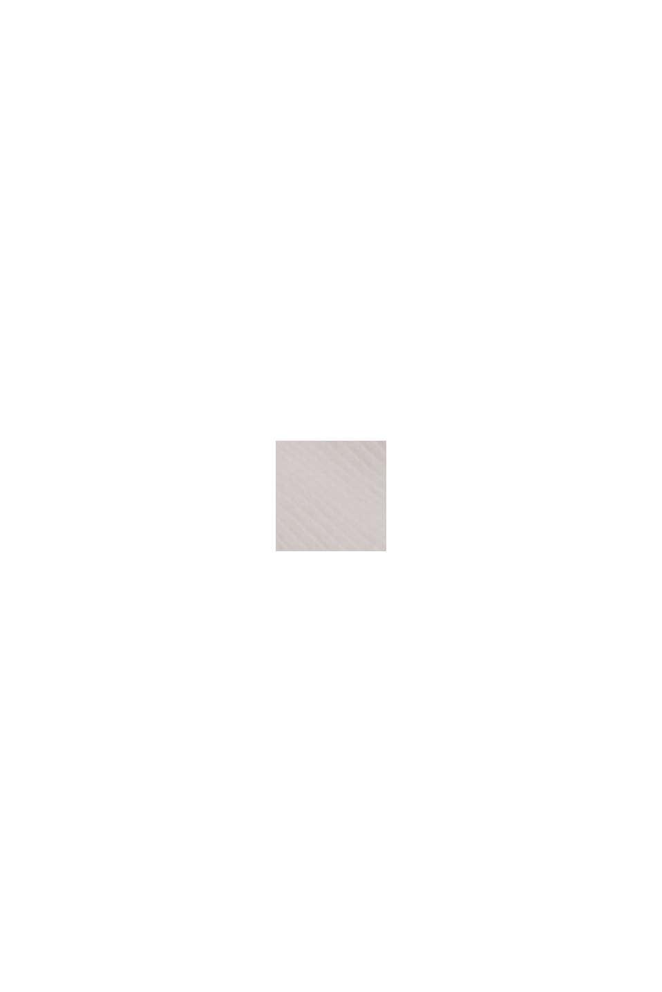 T-shirt con cotone biologico e viscosa, OFF WHITE, swatch