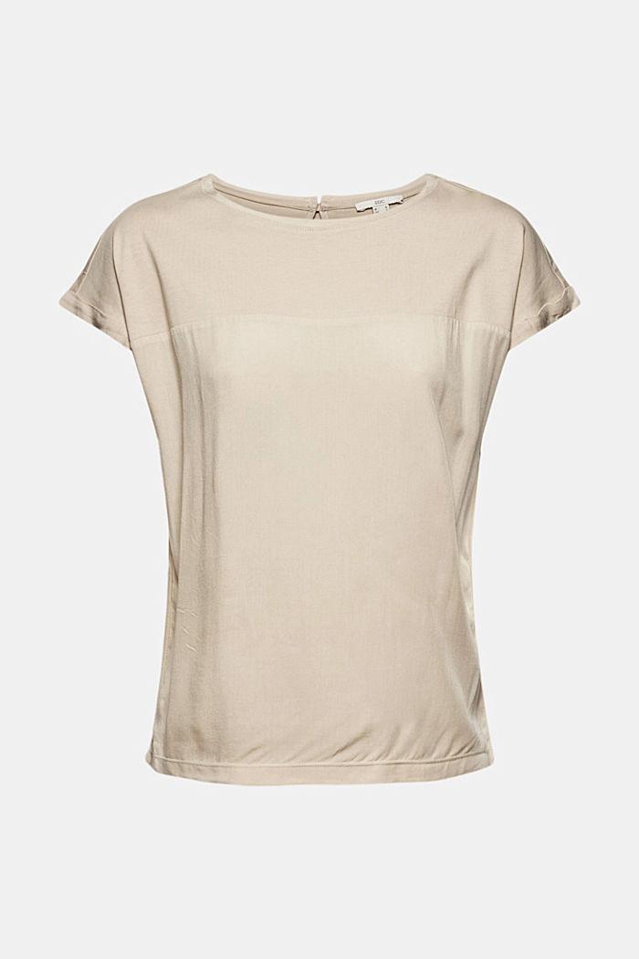 T-Shirt mit Organic Cotton und Viskose