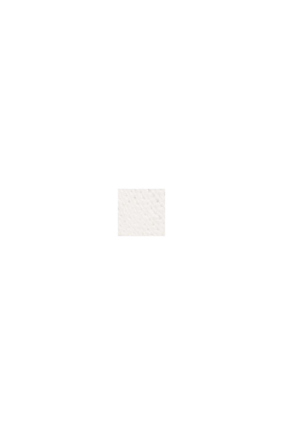 T shirt i 100% økologisk bomuld, OFF WHITE, swatch