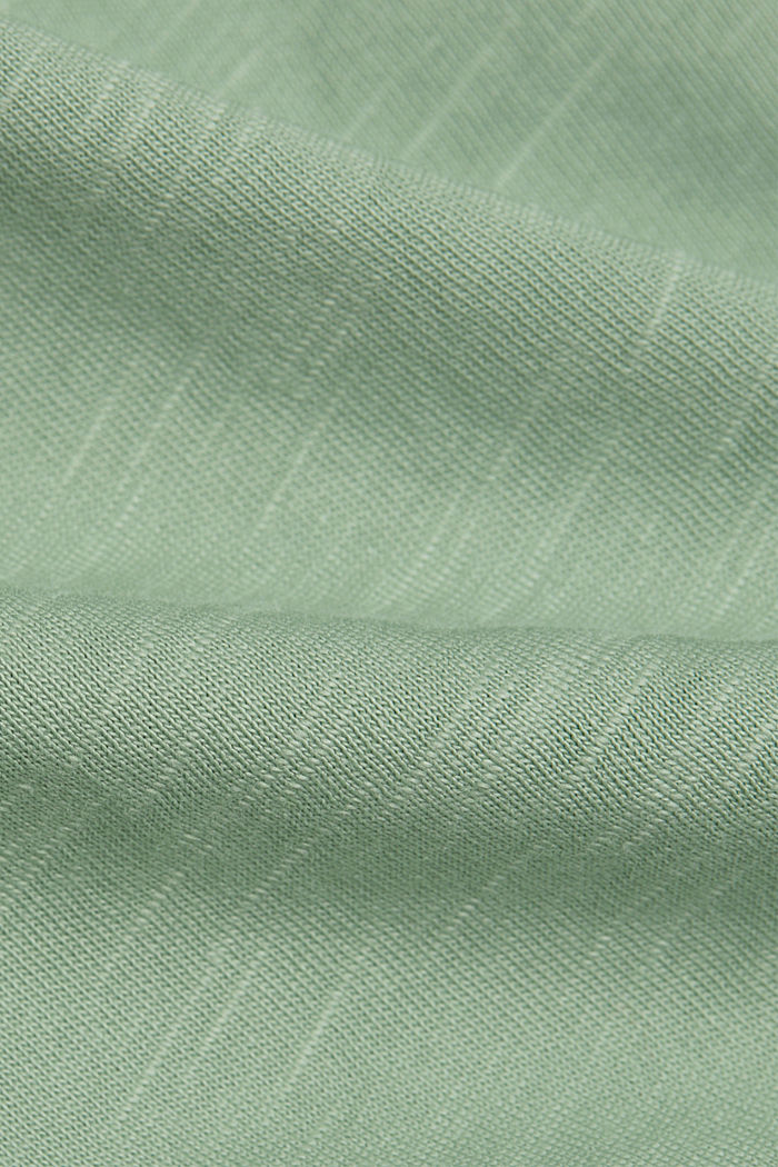 T-shirt made of 100% organic cotton, DUSTY GREEN, detail image number 4