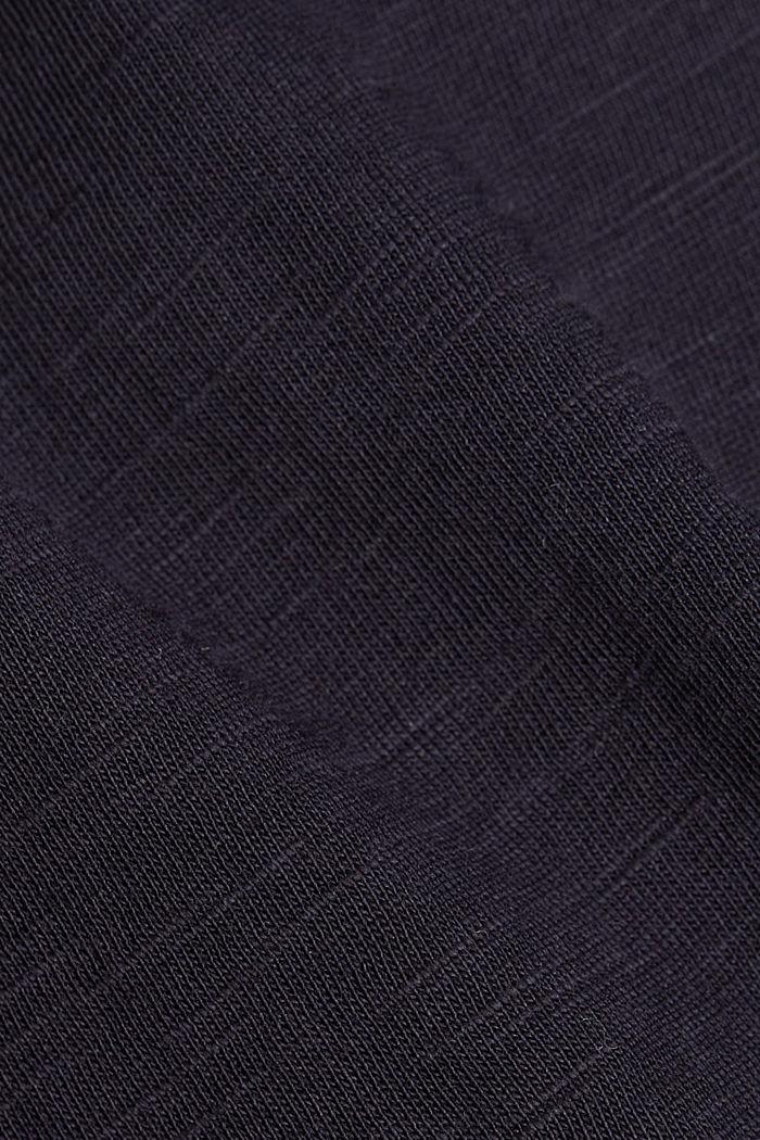 T-Shirt aus 100% Organic Cotton, NAVY, detail image number 4