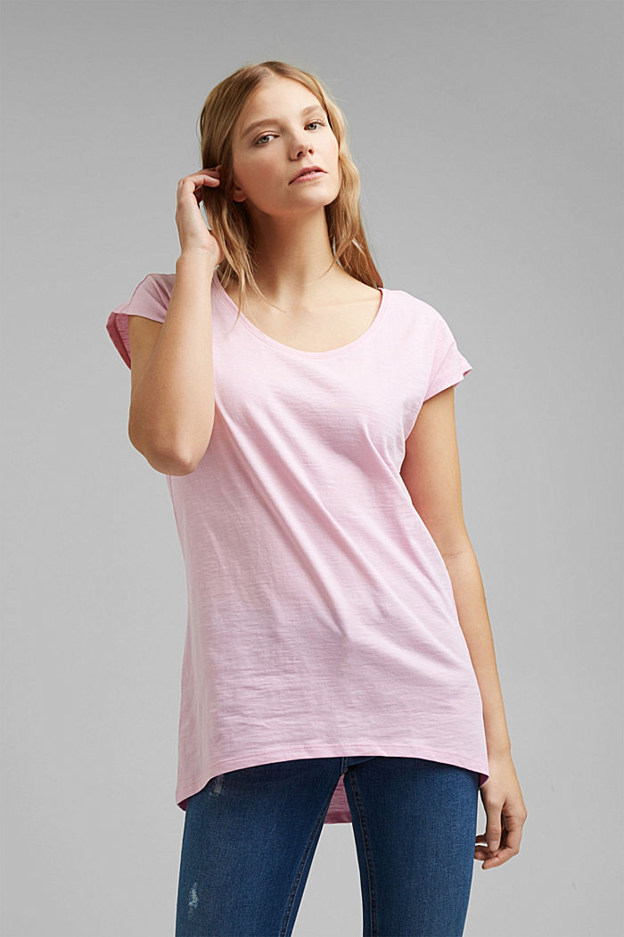 T-shirt made of 100% organic cotton, PINK, detail image number 0