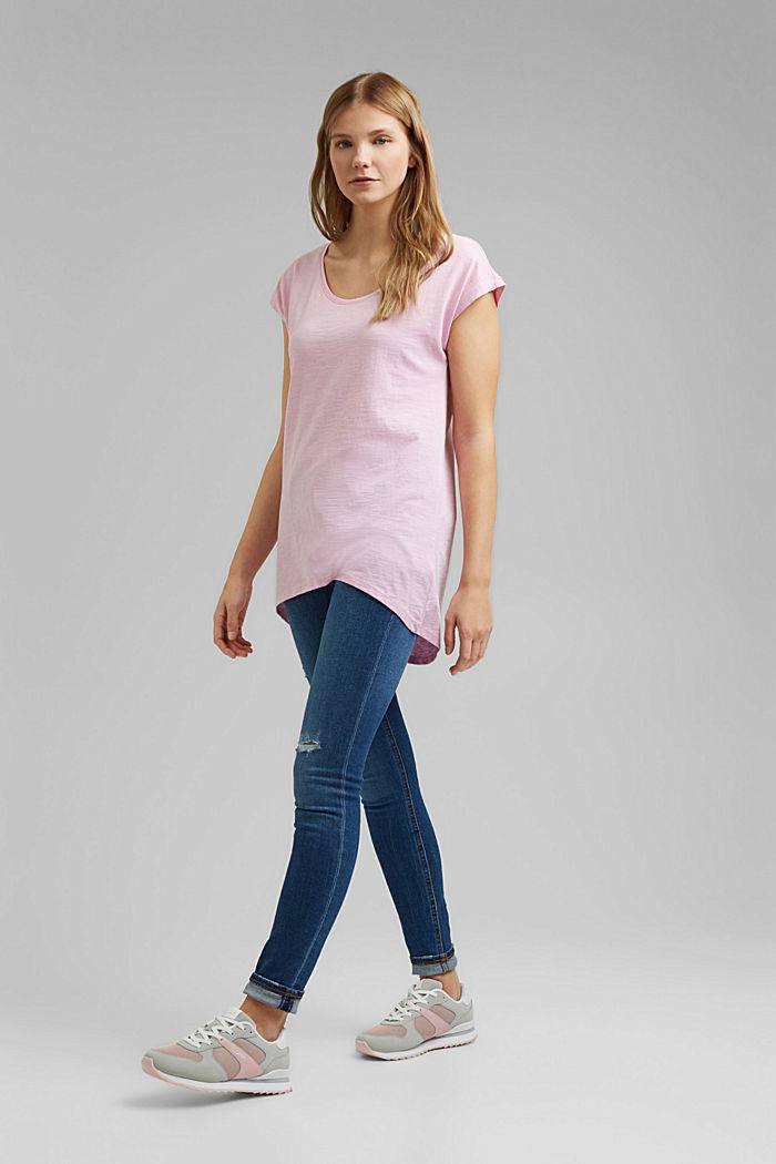 T-shirt made of 100% organic cotton, PINK, detail image number 1