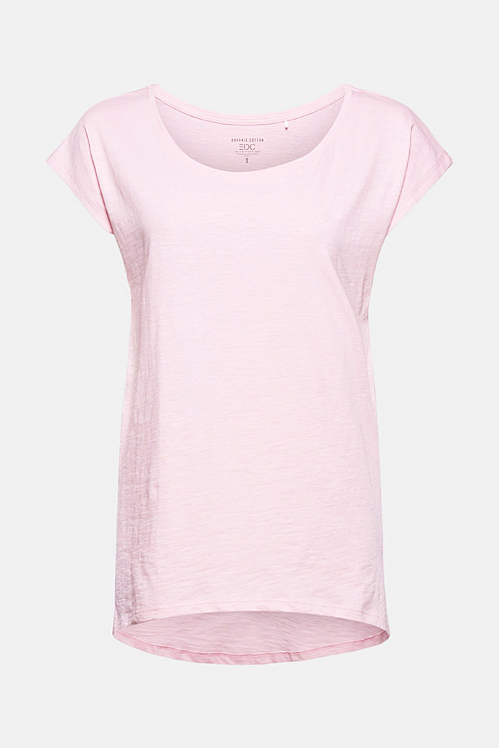 T-shirt made of 100% organic cotton, PINK, detail image number 7